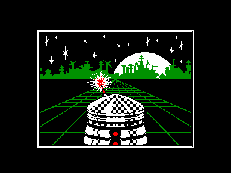 screenshot of the Amstrad CPC game Highway Encounter 2