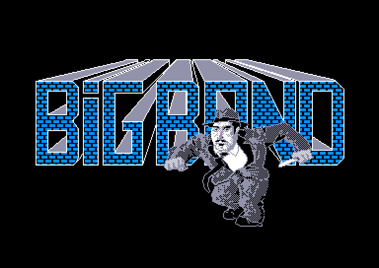 screenshot du jeu Amstrad CPC Big band