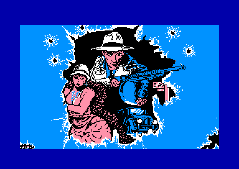 screenshot du jeu Amstrad CPC Chicago 30's