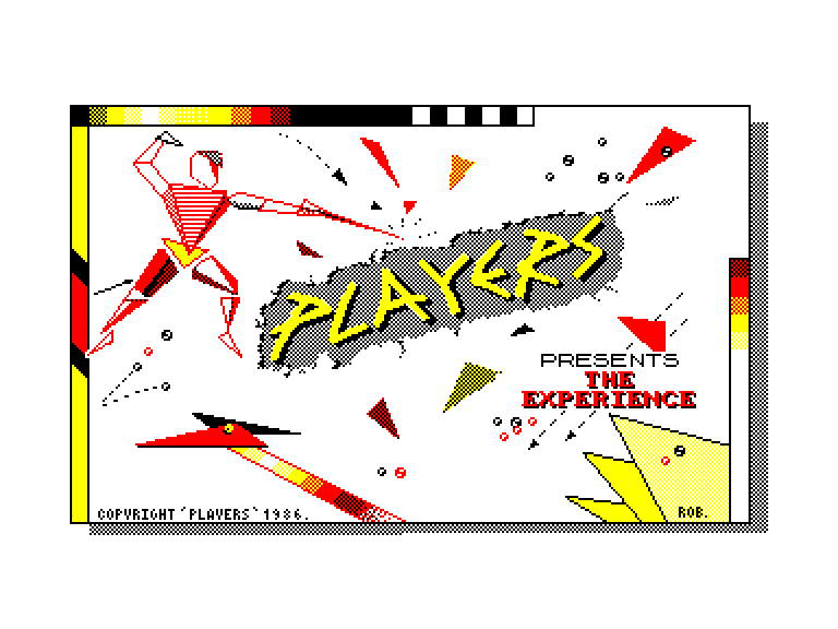 screenshot of the Amstrad CPC game Experience (the)