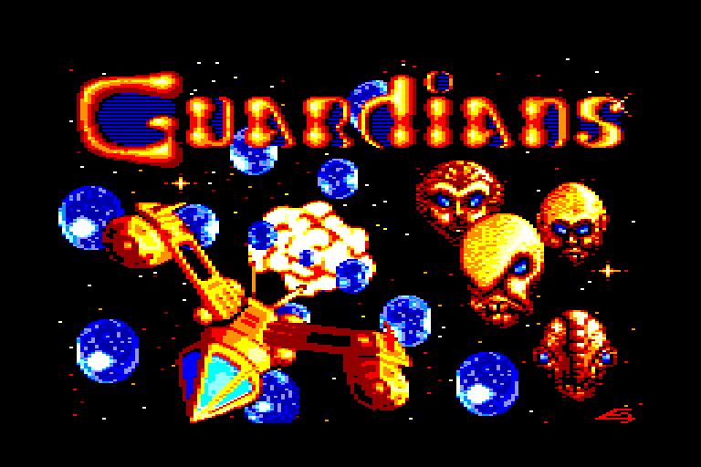 screenshot du jeu Amstrad CPC Guardians