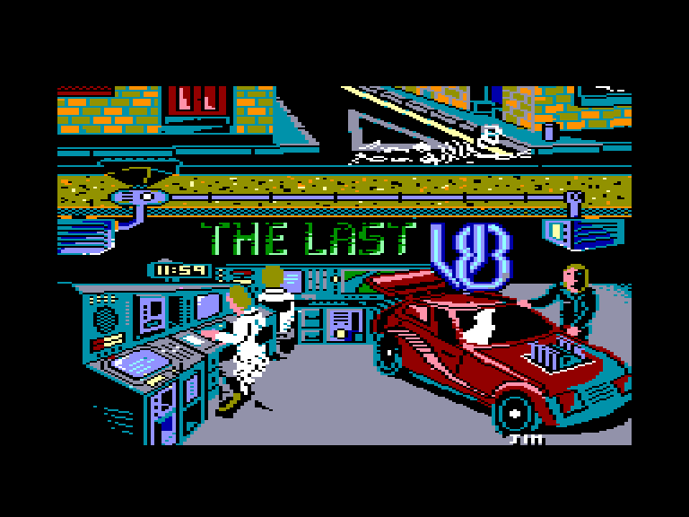 screenshot of the Amstrad CPC game Last V8 (the)