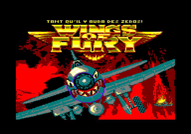 screenshot du jeu Amstrad CPC Wings of fury
