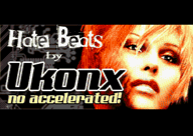 screenshot of the Hate Beats demo by Ukonx