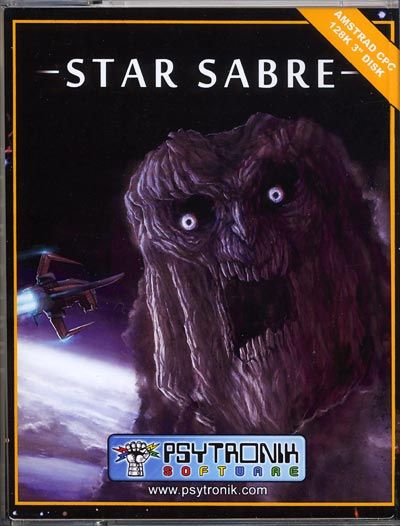Star Sabre 128 as a tape package