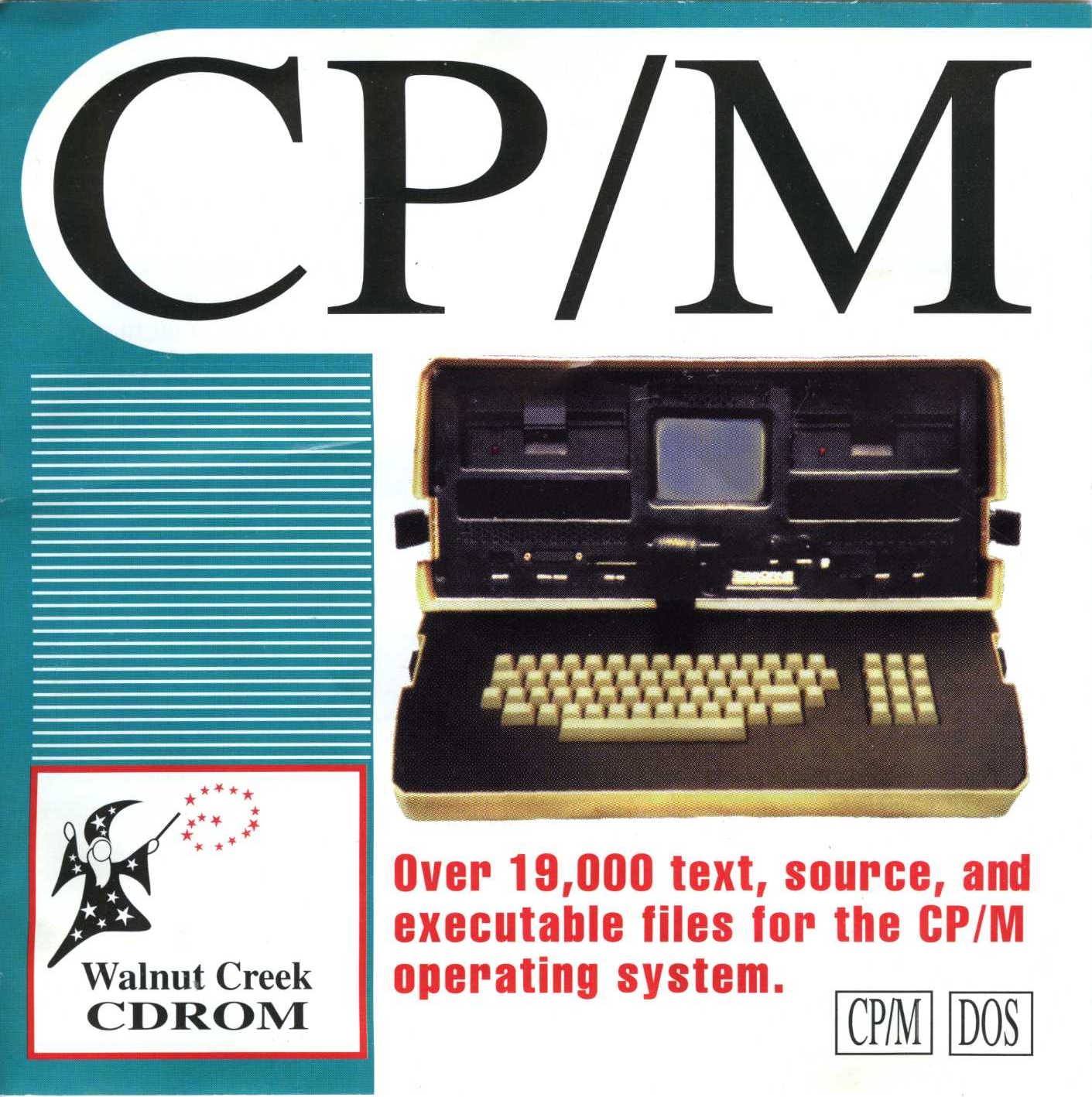 front cover the Walnut Creek CPM CD-ROM